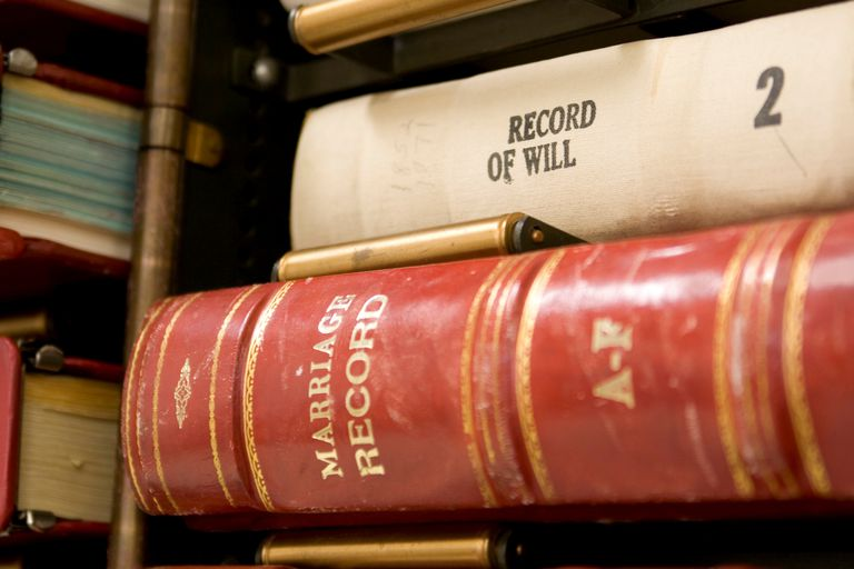 Court Records - Marriage Records, Wills