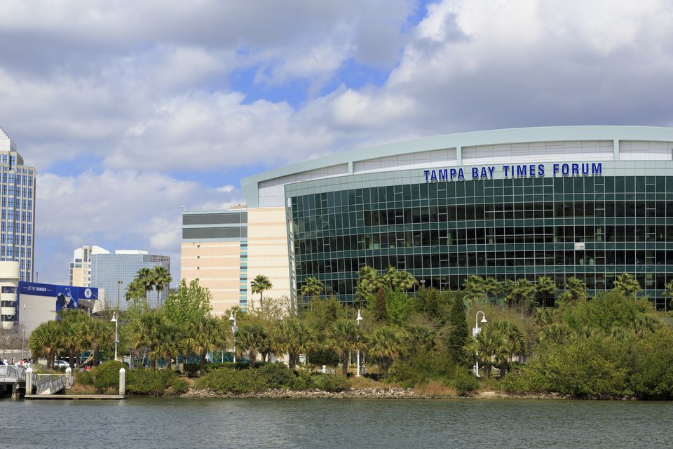 St. Pete Times Forum in Tampa Bay.