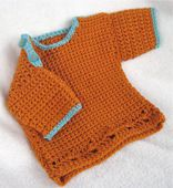 Easy Crochet Baby Sweater
