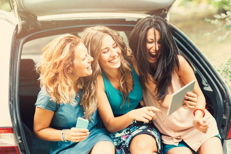 get internet in car mobile hotspot
