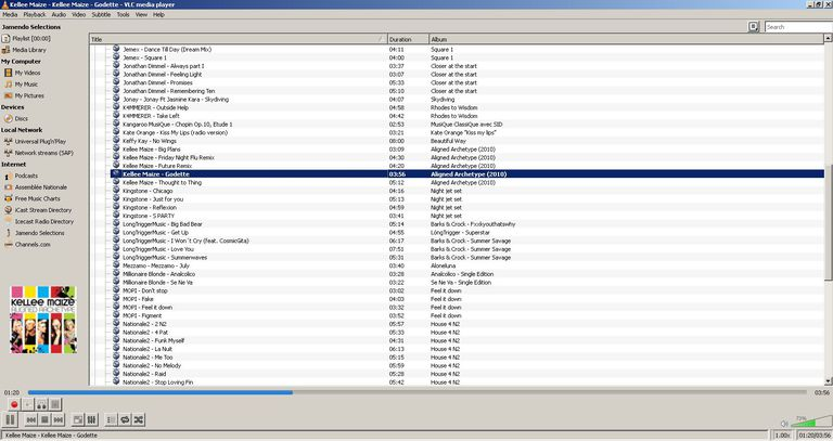Streaming Music in VLC Media Player