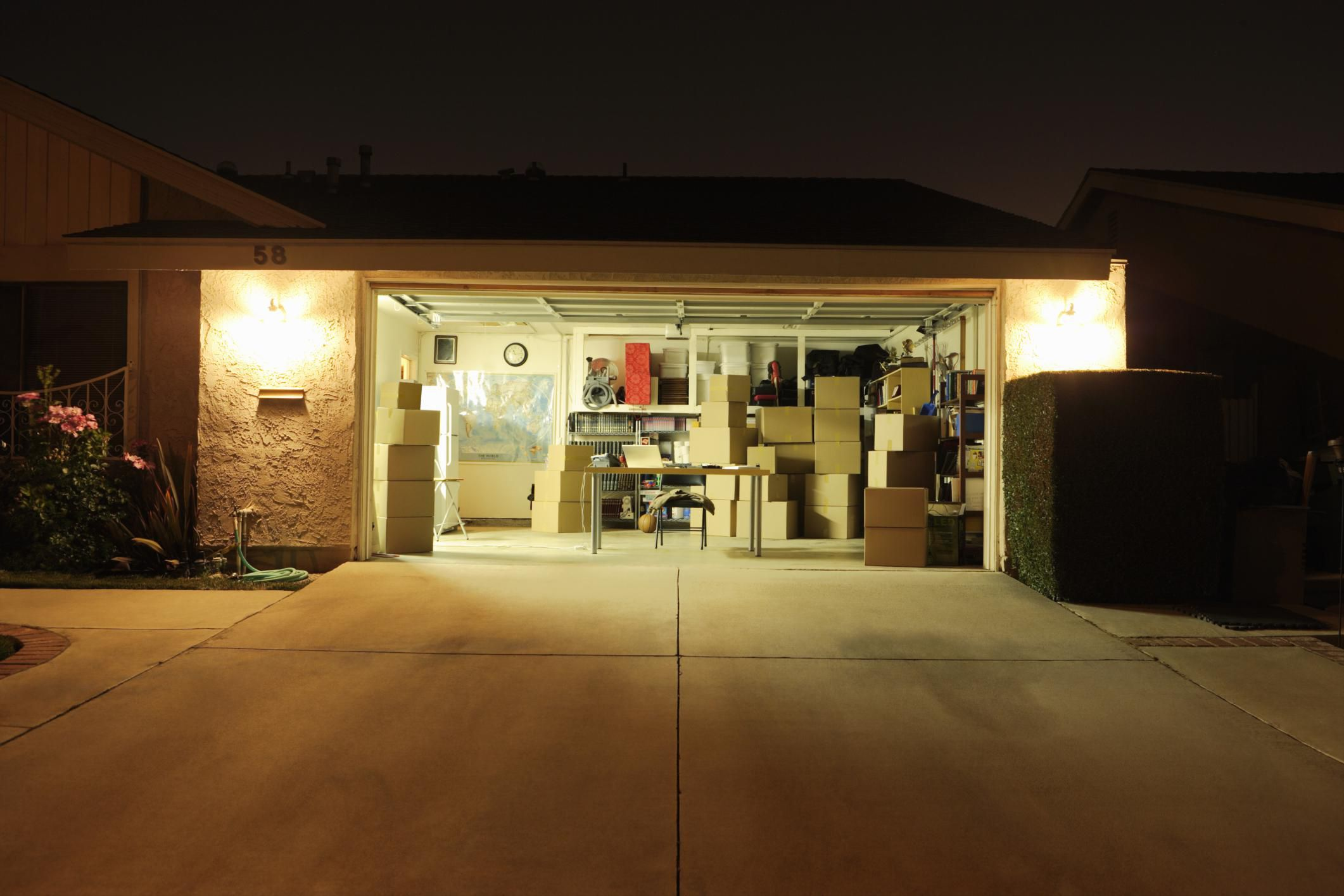 Assessing your garage for conversion to living space for Garage designs with living space
