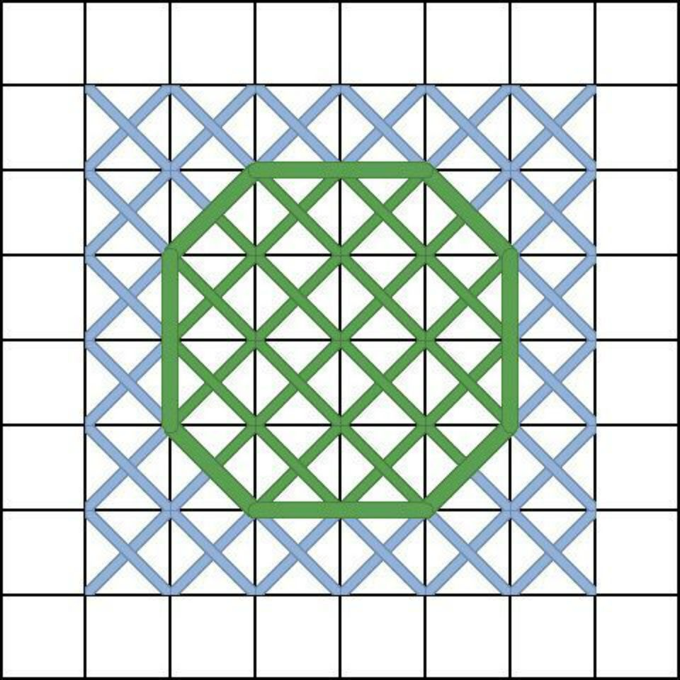 Tutorial what do two symbols in a square example of stitched motif with two symbol squares in pattern buycottarizona