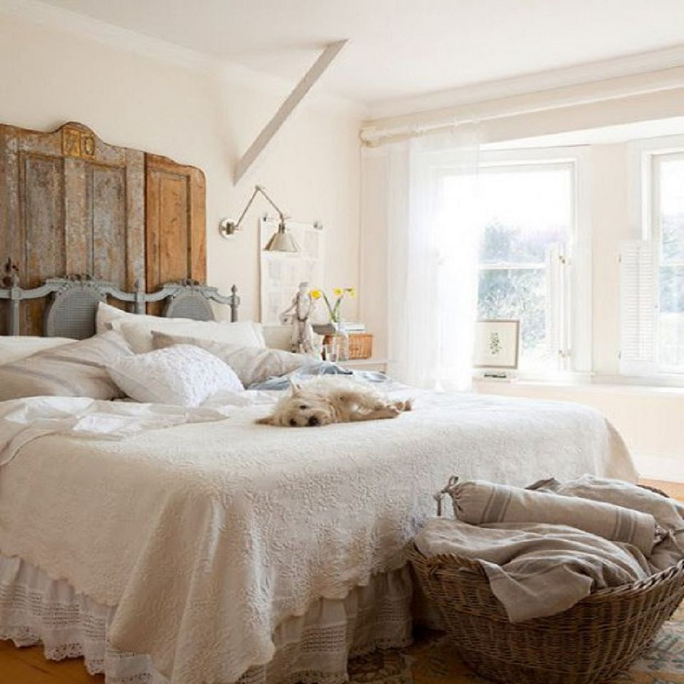Vintage pieces work well in a modern rustic bedroom. Modern Rustic Bedroom Decorating Ideas and Photos