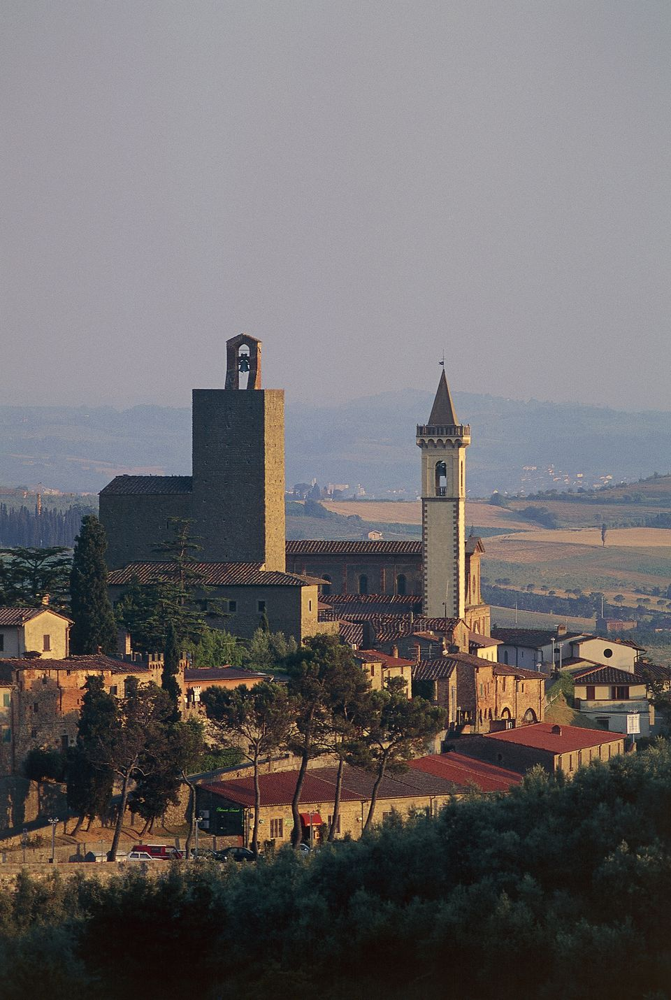 View of Vinci, Italy