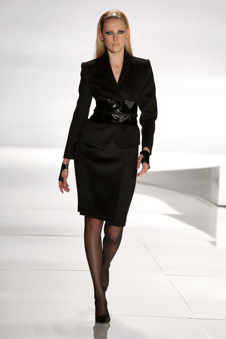 Classic suit from the Chado Ralph Rucci Collection for fall 2009