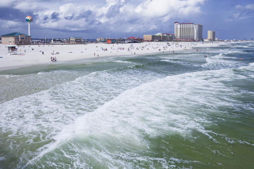 View of Pensacola Beach