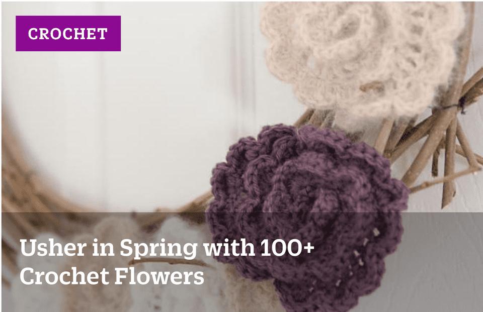 100+ Crochet Flowers