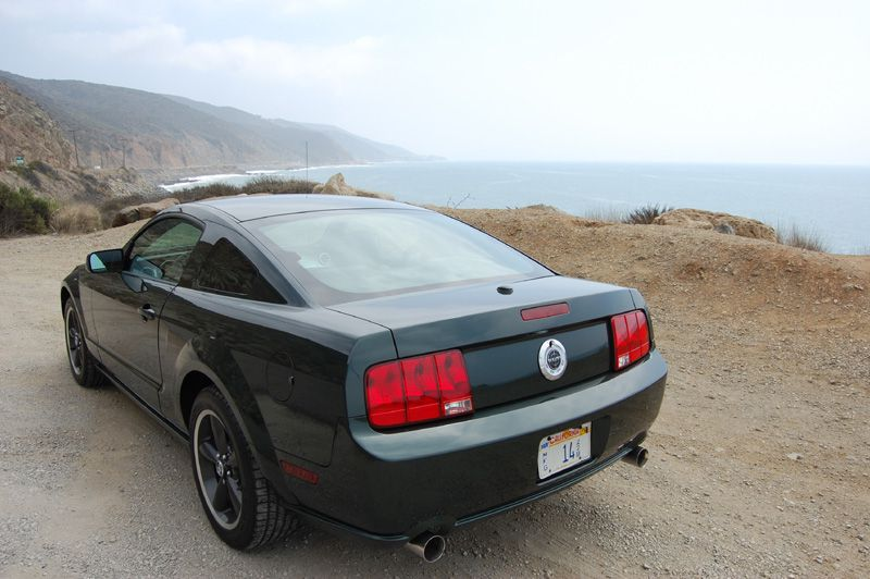test drive 2009 ford bullitt mustang. Black Bedroom Furniture Sets. Home Design Ideas