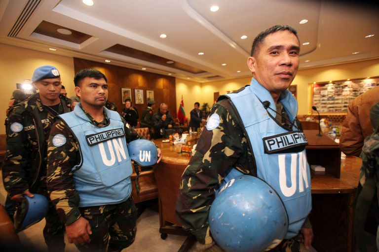 Freed UN Peacekeepers Captured In Syria Arrive In Jordan