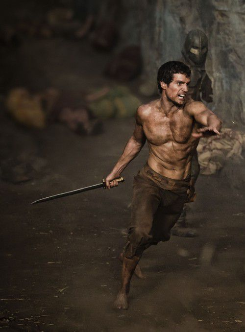 """Theseus as depicted in the movie """"The Immortals"""""""