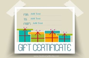 173 free gift certificate templates you can customize free gift certificate templates at creative certificates yadclub Gallery