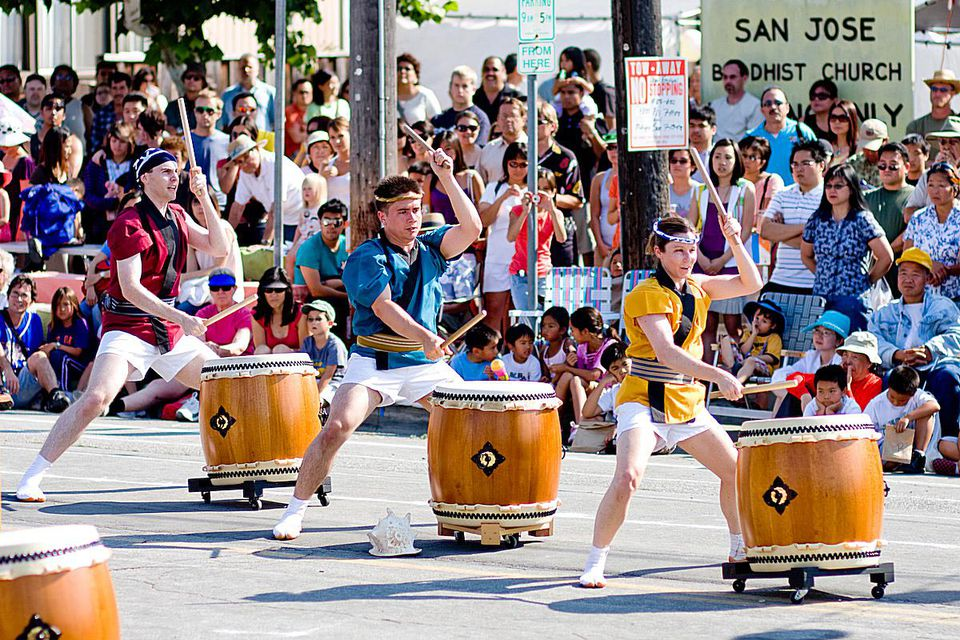 San Jose Taiko at the Obon Festival
