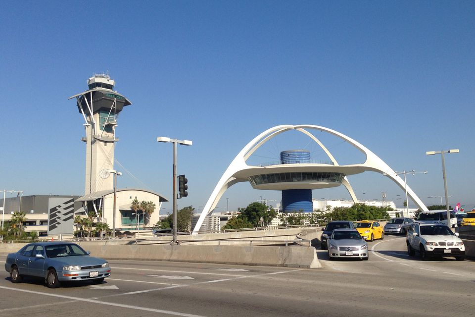The Theme Building and Control Tower at LAX