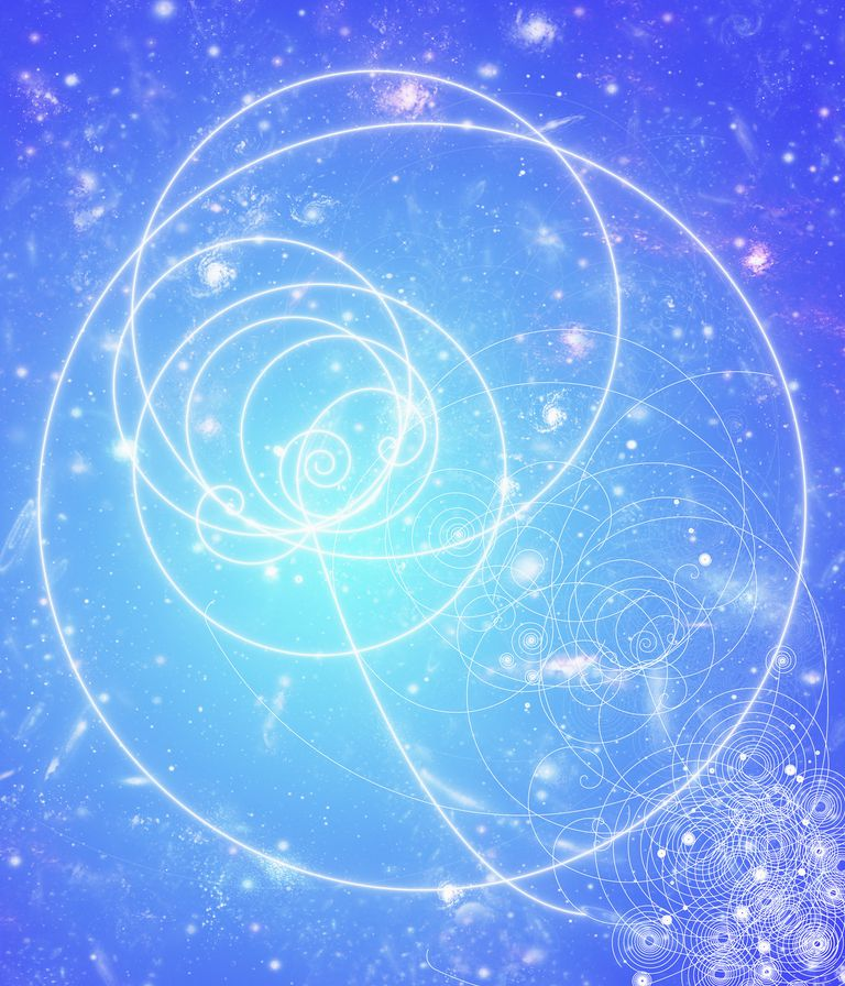 A positron can leave particle tracks in a bubble chamber.