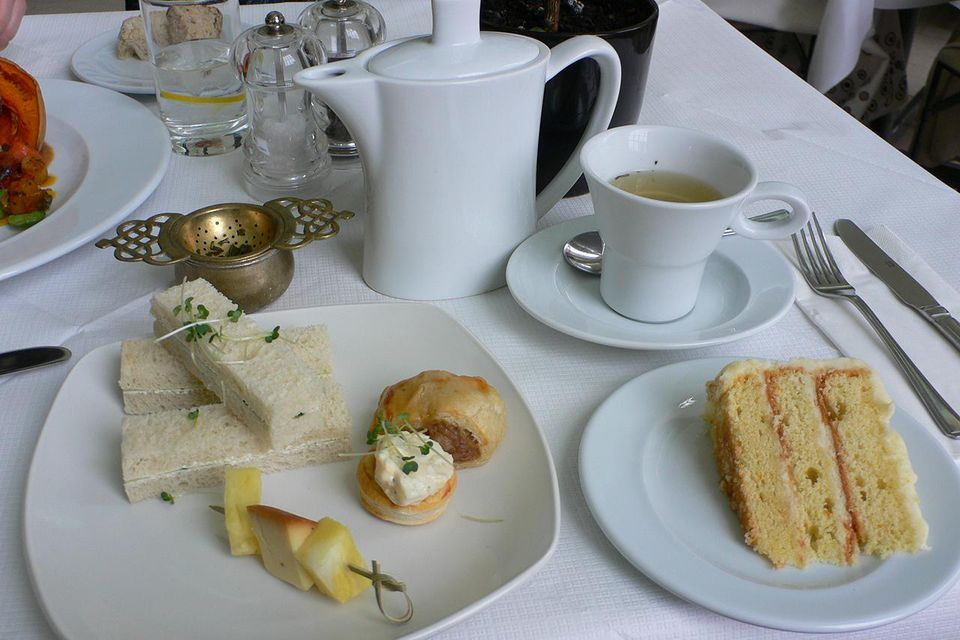 Debutante's Tea at the Orangery, Kensington Palace