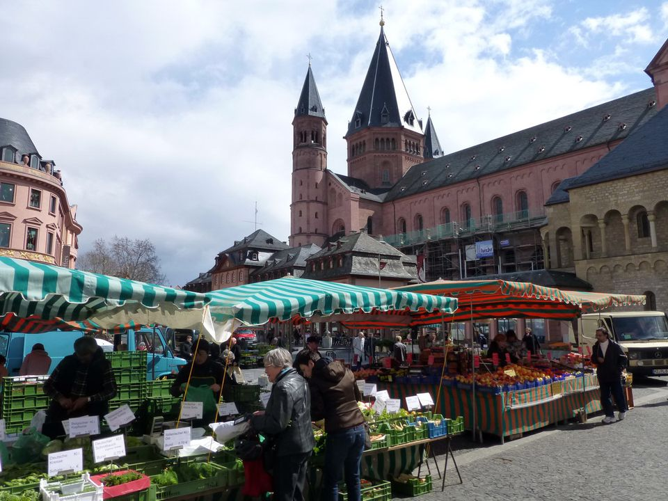 Mainz, Germany on the Rhine River