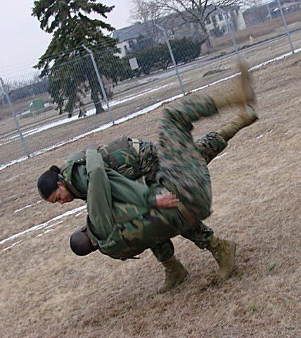 Overview of marine corps trainers part one ever since the marine corps overhauled its hand to hand combat system with the introduction of the marine corps martial arts program mcmap in 2001 sciox Images
