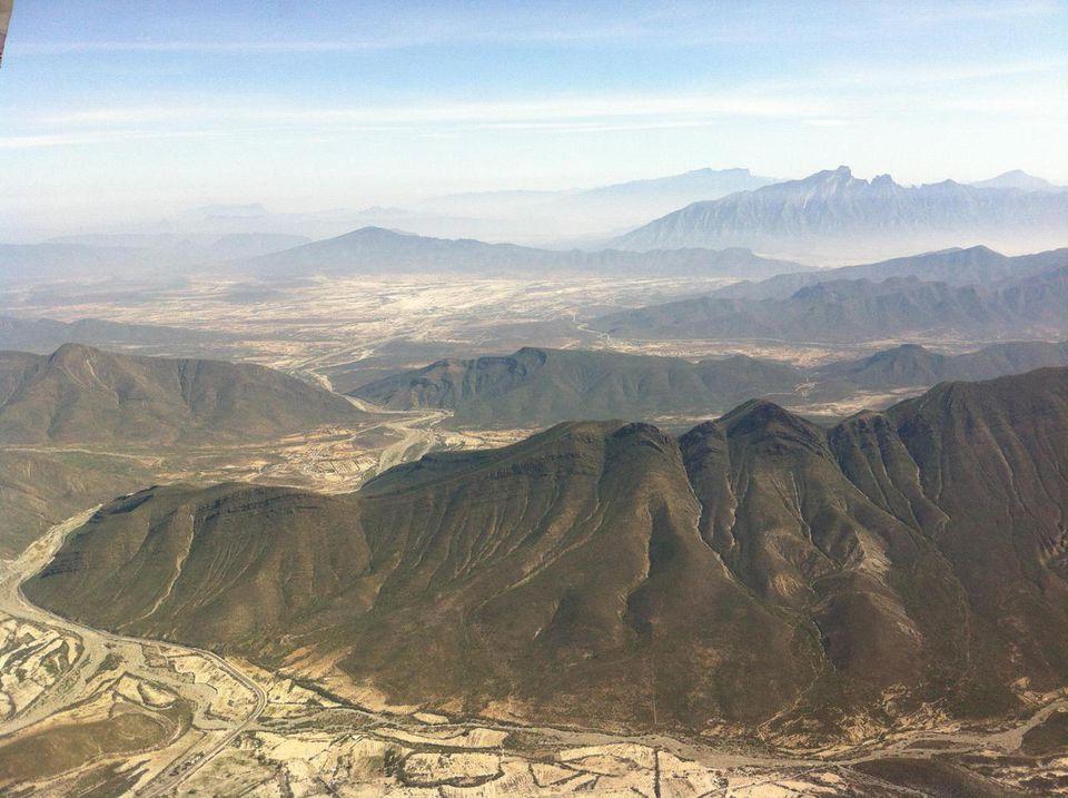 Monterrey, Nuevo Leon, Mexico, Mountains In Monterrey