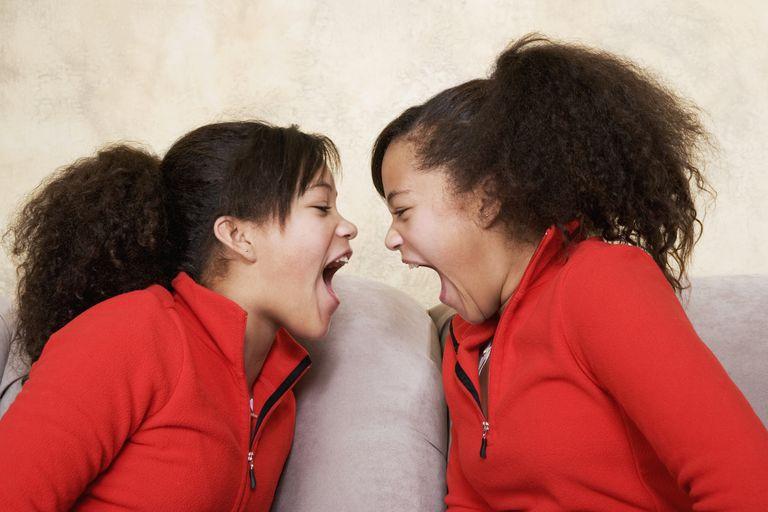 Twin Sibling Rivalry