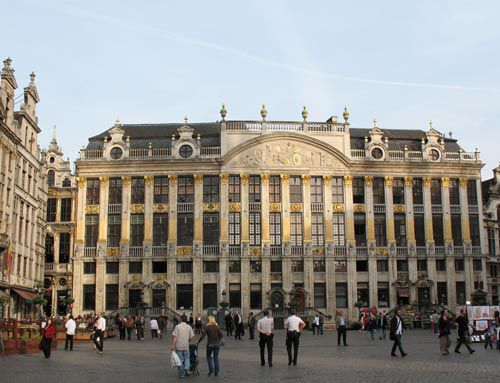 center of Brussels