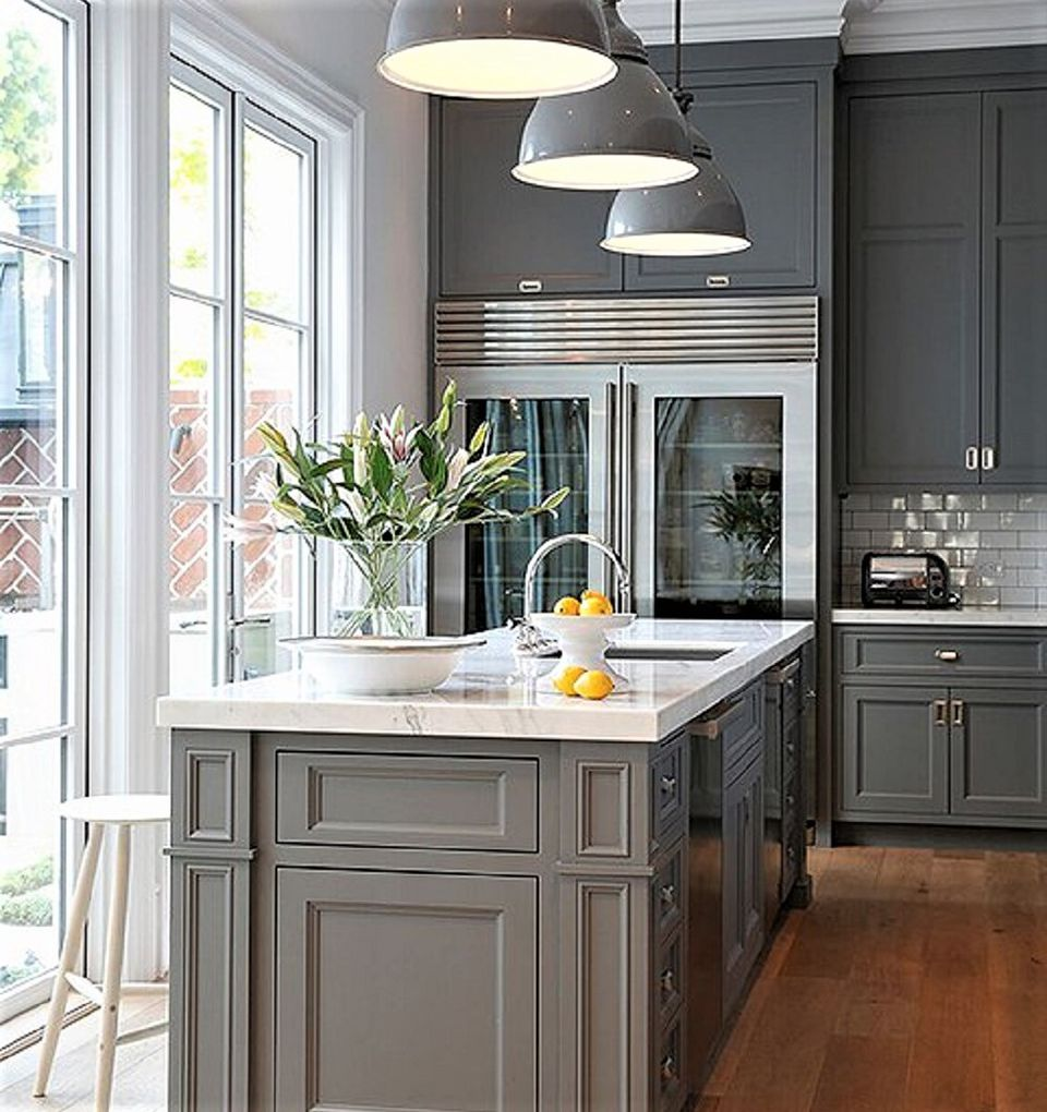 Black Kitchen Cabinets What Color On Wall: Kitchen Paint Color Ideas That Are Beyond Gorgeous