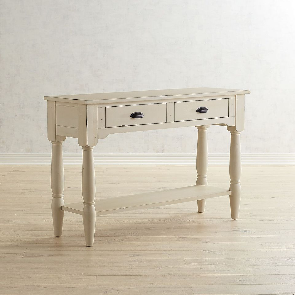 13 pretty console and entry tables for your home magnolia home farmhouse console table geotapseo Choice Image