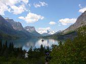 Scenery in Glacier National Park