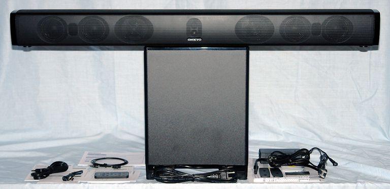 Onkyo LS-B50 Sound Bar System Package