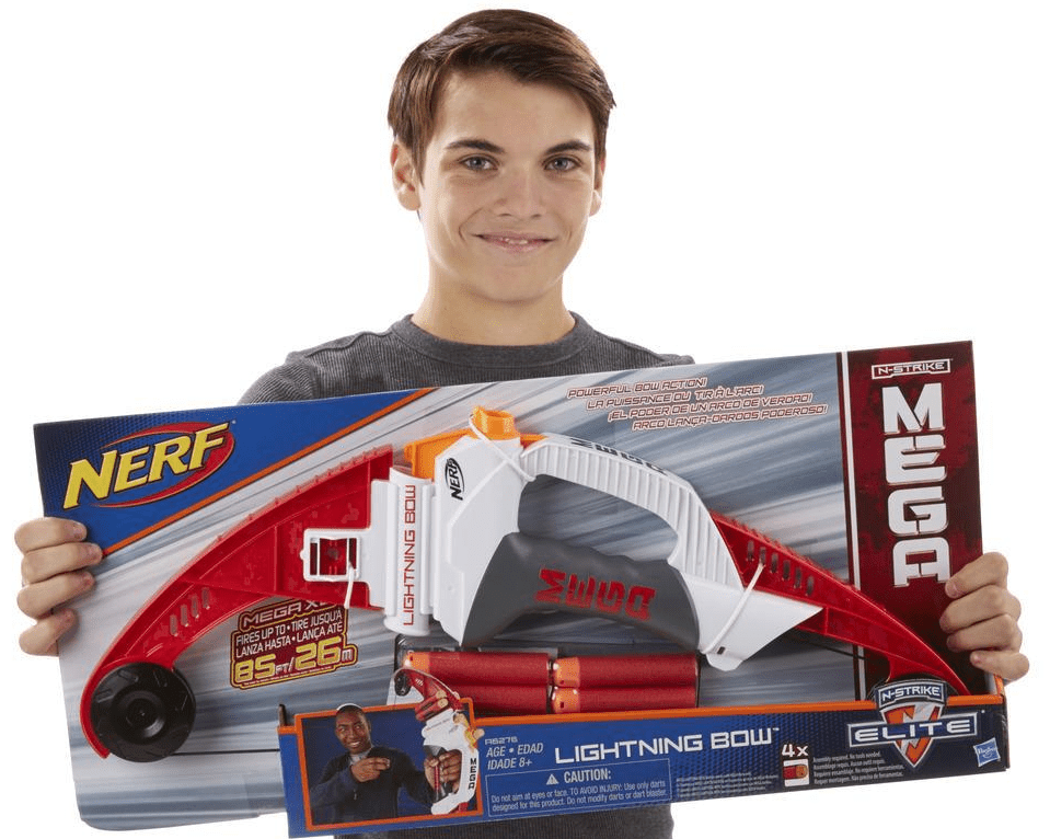 Nerf N-Strike Mega Lightning Bow in Box