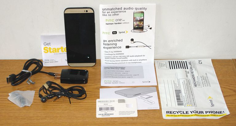 HTC One M8 Harman Kardon Edition Smartphone with Accessories