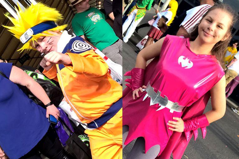 Naruto and Batgirl