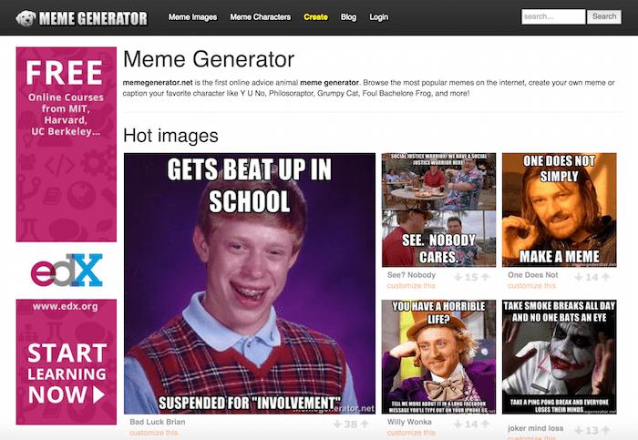 10 Popular Meme Generator Tools