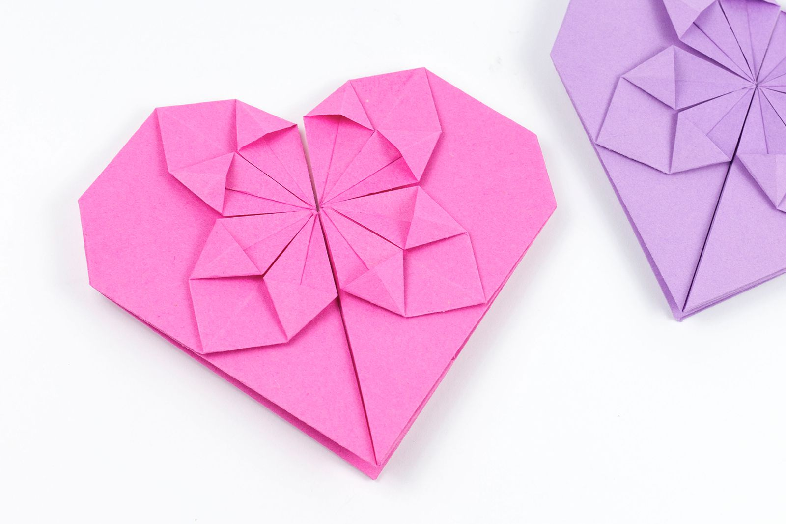 How to Make an Origami Heart - photo#19