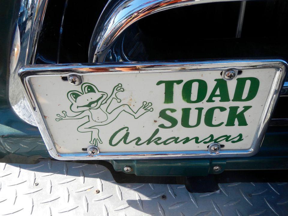 Toad Suck Arkansas