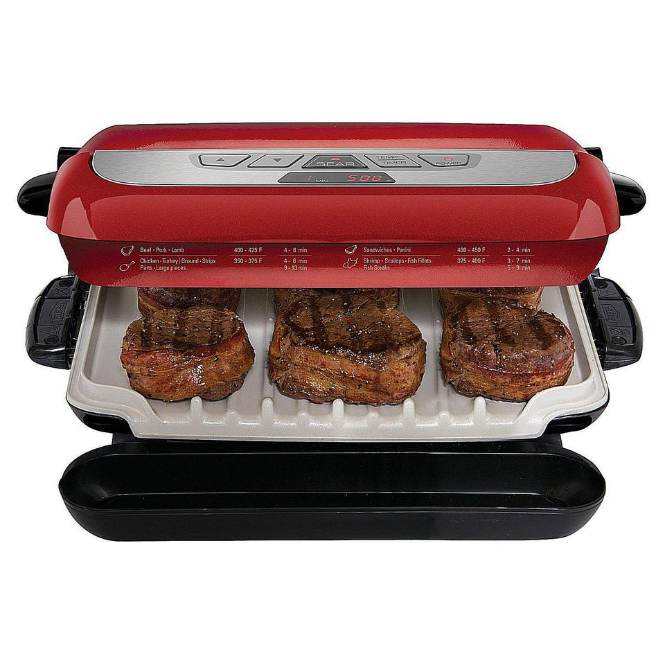 Top 10 indoor grills for 2018 - Largest george foreman grill with removable plates ...