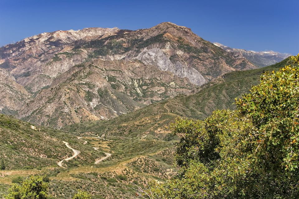 The Road to Kings Canyon in Sequoia National Park