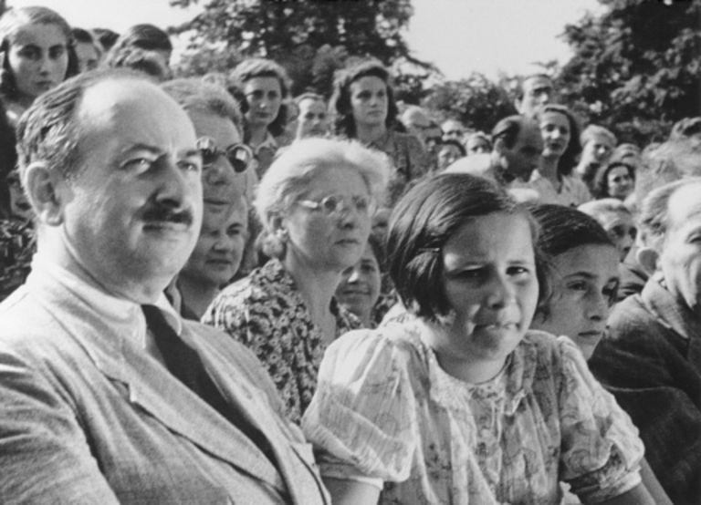 Still photograph from the Nazi propaganda film,