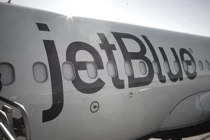 JetBlue Airways Passengers Board In Long Beach, California