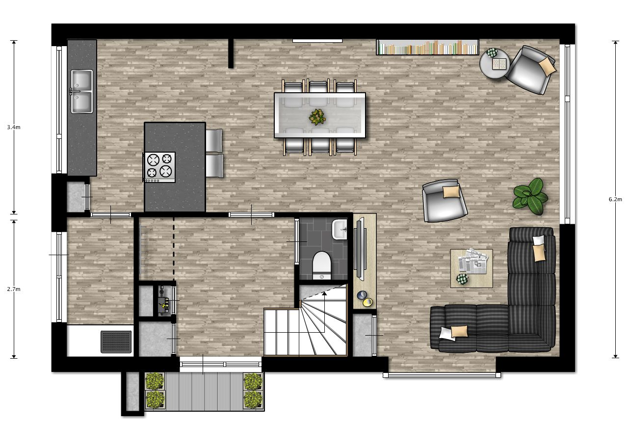 Floorplanner create floor plans easily and for free - Design a building online free ...