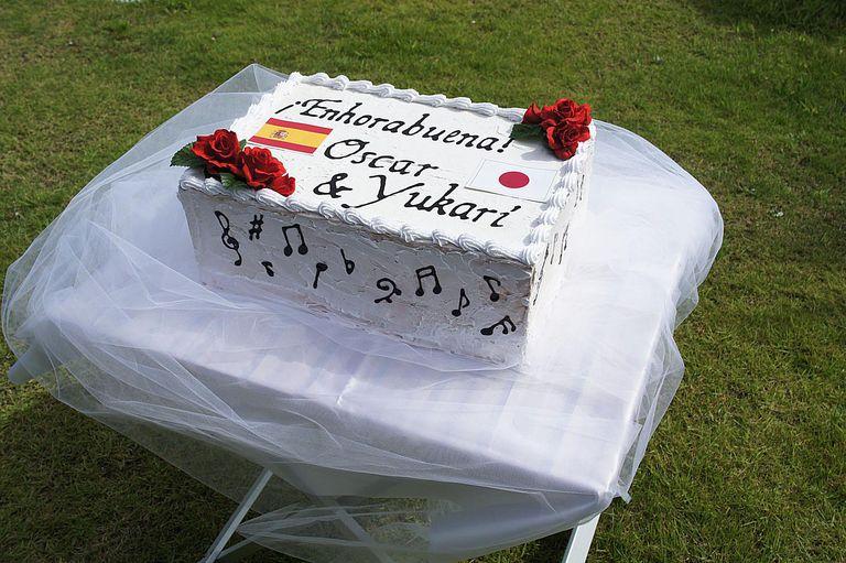 Enhorabuena wedding cake