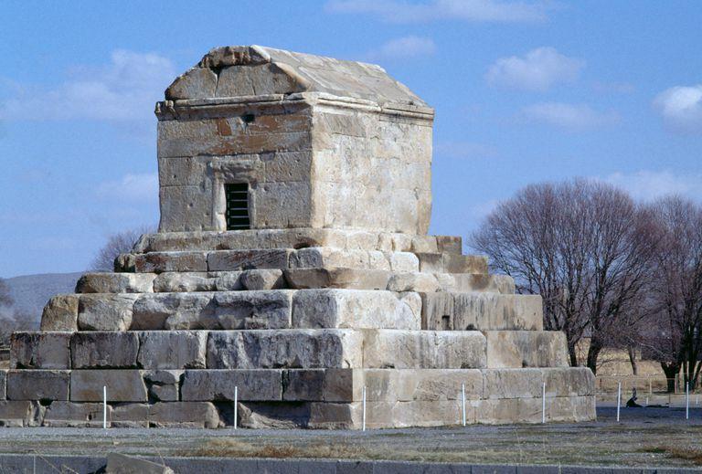 Tomb of Cyrus the Great, Pasargadae (Unesco World Heritage List, 2004), Iran, Achaemenid civilization, 6th century BC