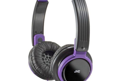 JVC HAS200B On-Ear Foldable Headphone