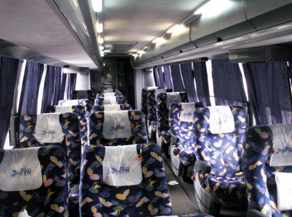 ETN Bus Interior - Mexico Luxury Bus Interior