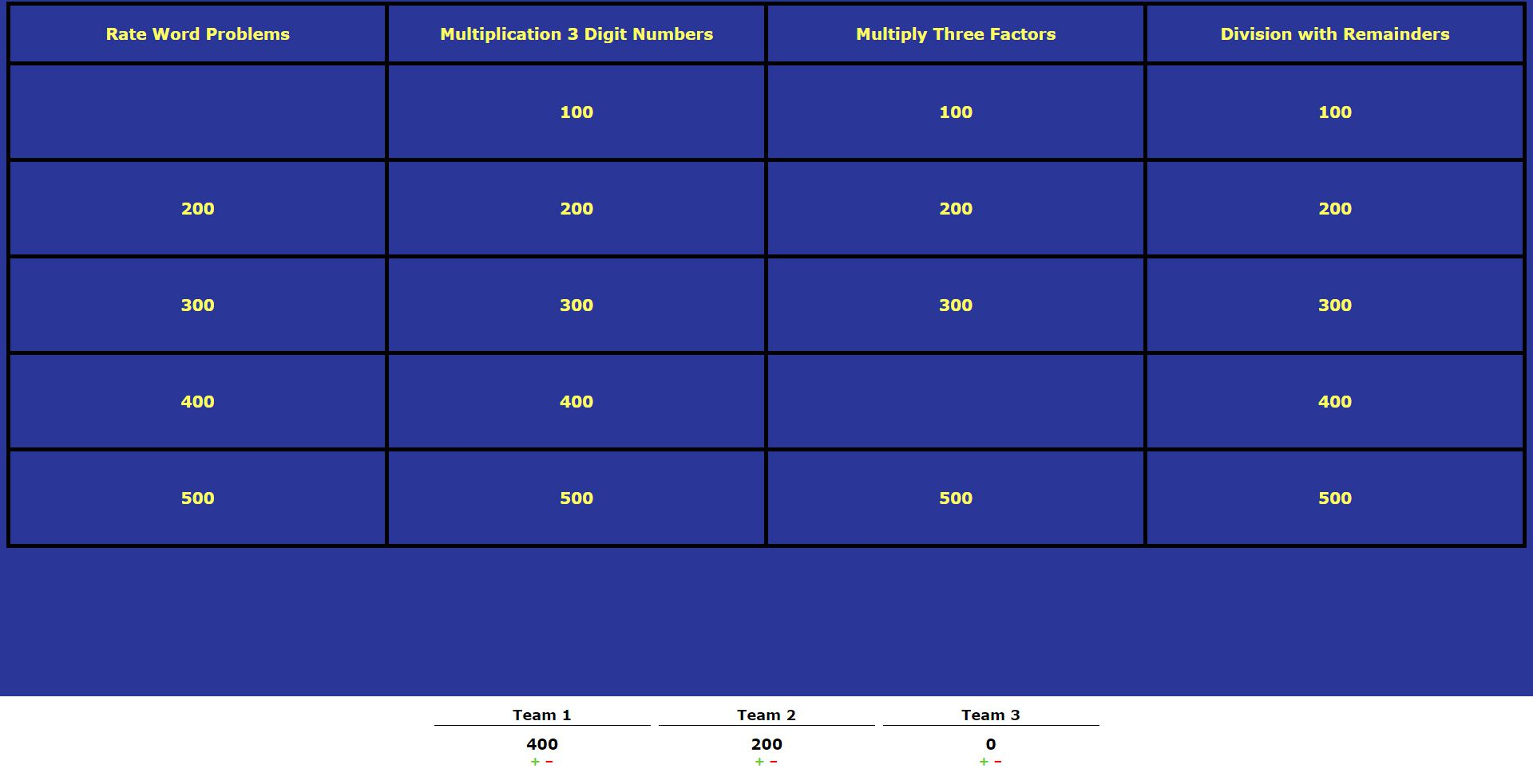 9 free jeopardy templates for the classroom alramifo Choice Image