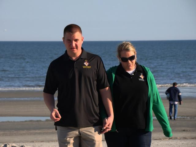 Participants in the Army's Strong Bonds Couples Program