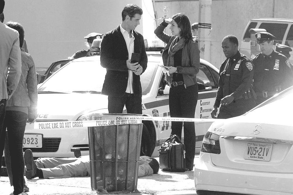 CSI:NY FILMING IN NEW YORK