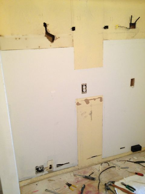 holes in drywall