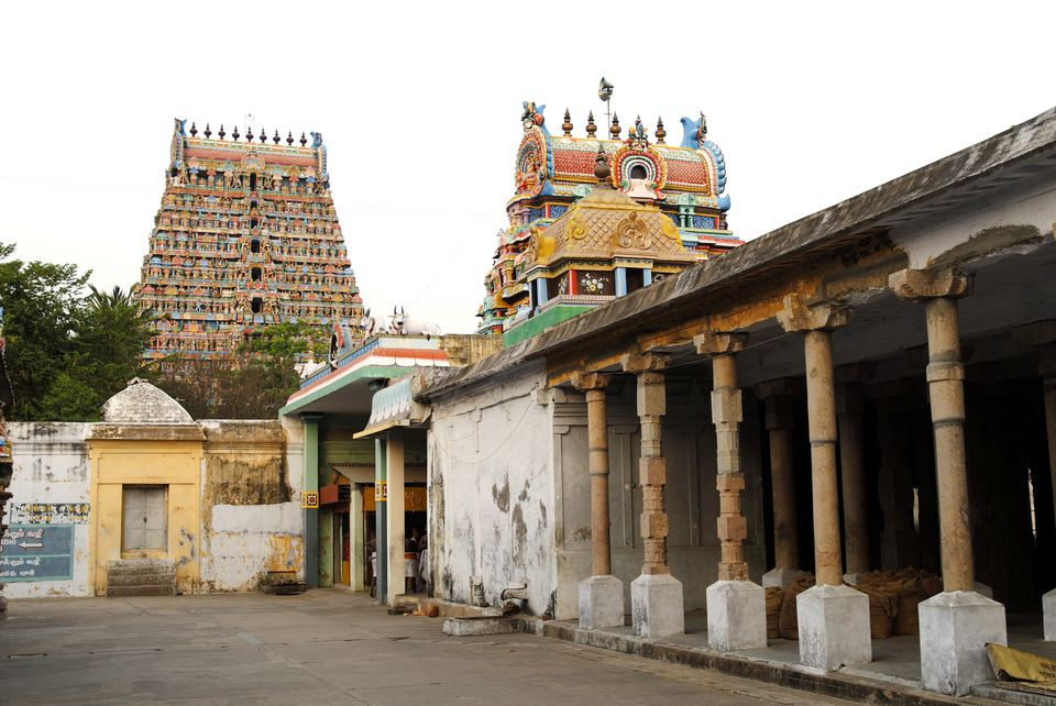 Mayuranathaswamy temple built in 8th century, Mayiladuthurai Mayuram situated banks river Cauvery Kumbakonam, Tamil Nadu