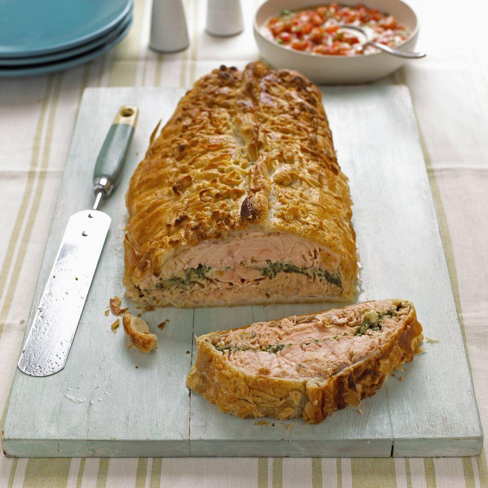 Salmon loaf